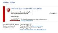 Lösung: 0x80072EFD – Update-Fehler in Windows beheben