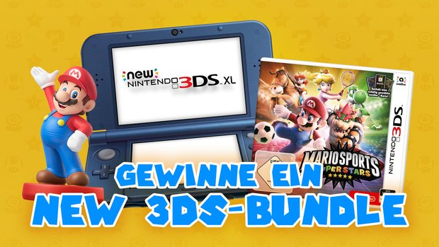 Mario Sports Superstars: Gewinne bei uns ein New 3DS-Bundle
