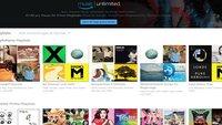 Amazon Music: Playlist erstellen, finden und teilen