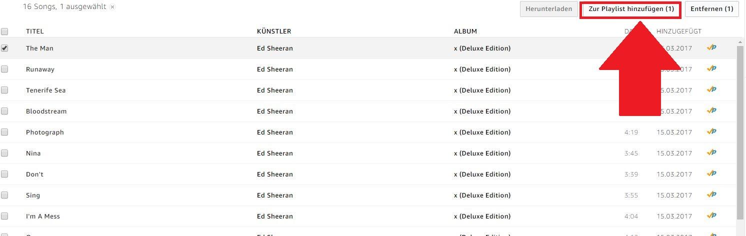 Amazon Music Playlist Erstellen