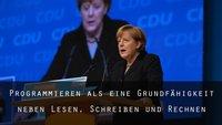 Programmieren als Schulfach: Warum Merkel Recht hat [Kommentar]