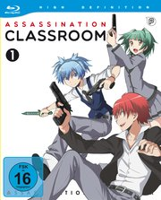 Assassination Classroom Staffel 1 Vol. 1 Lerche AV-Visionen