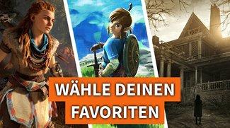 Stimme jetzt ab: Welche Spiele aus dem 1. Quartal 2017 sind Deine Favoriten?