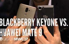 BlackBerry KEYone und Huawei...