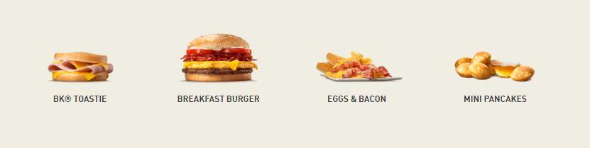 Carte Des Burger King Espagne.Burger King Fruhstuck Ab Wann Und Bis Wann Zeiten Im Uberblick