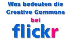 Letzter Termin: Die Flickr Creative Commons-Lizenz einstellen