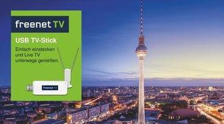 freenet TV USB TV-Stick für DVB-T2 HD: Preis, Funktion, Software und Verfügbarkeit