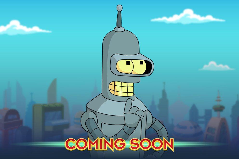 Bald ist es soweit. Wir sind gespannt auf Futurama: Worlds of Tomorrow.