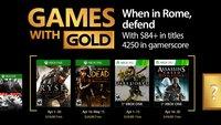 Xbox Live: Das sind die Games with Gold im April 2017