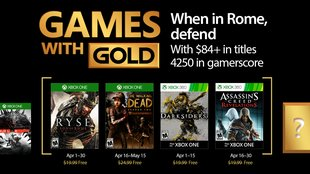 Xbox Live: Das sind die Games with Gold im April 2017