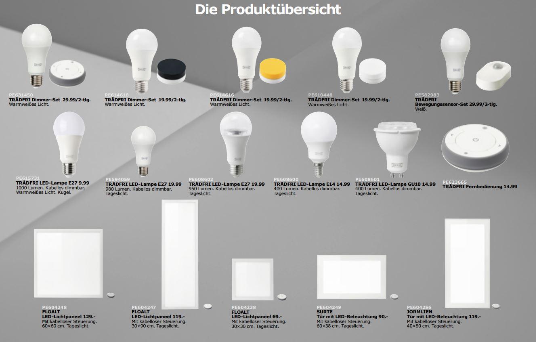 Ikea Smart Home Beleuchtung Tradfri Kommt Jetzt Nach Deutschland Giga
