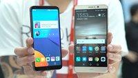 LG G6 vs. Huawei Mate 9: Zwei High-End-Phablets im Vergleich
