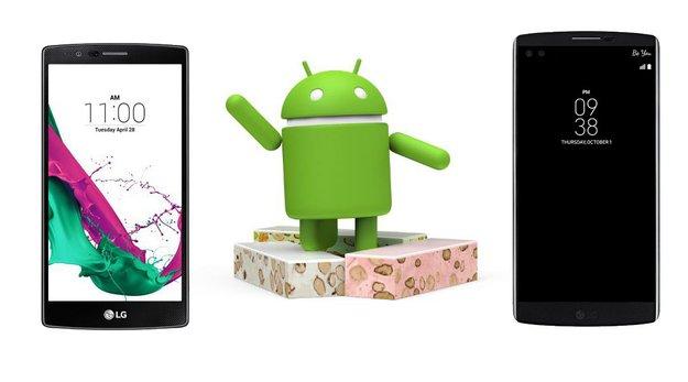 Überraschung: LG G4 und LG V10 bekommen doch Android 7.0 Nougat