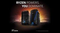 Gaming-PCs: Medion Erazer mit AMD Ryzen 7 ab 1.199 € erhältlich