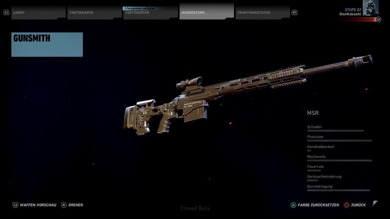 Entfernungsmesser Scharfschütze : Ghost recon wildlands bestes scharfschützengewehr msr früh bekommen