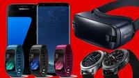 Best of Samsung bei MediaMarkt: Galaxy S8 mit Gear S3 und Vodafone-Vertrag für 35 € pro Monat