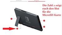 Nintendo Switch: Speicherplatz erweitern - so geht's