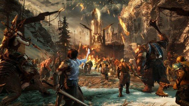 Mittelerde - Schatten des Krieges: Fetter Gameplay-Trailer zeigt Nemesis-Festung