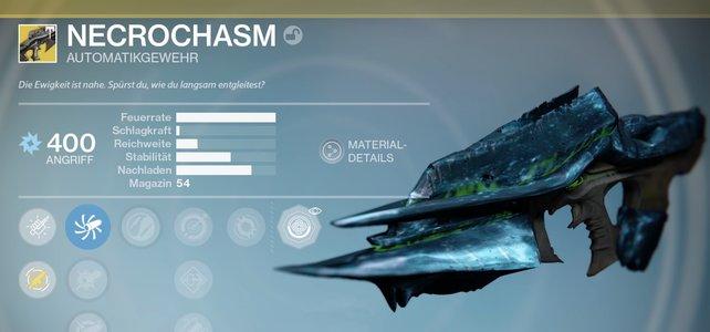 Destiny: Necrochasm bekommen in der Jahr 3 Version (mit Video)