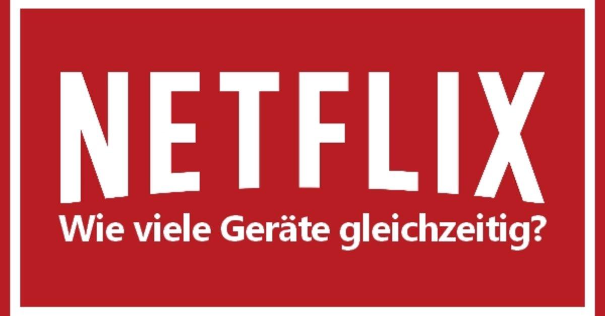Netflix für zwei geräte
