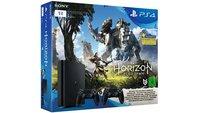 Top-Deal! PS4 Slim 1 TB + 2. Controller + Horizon Zero Dawn für 298 €