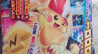 Pokémon Sonne und Mond: Pikachu bekommt jetzt auch eine Ash-Form