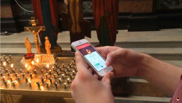 Junger Russe spielt in der Kirche Pokémon GO – jetzt drohen ihm bis zu fünf Jahre Haft