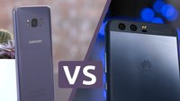 Samsung Galaxy S8 (Plus) vs. Huawei P10 (Plus): Konfrontation der Erzrivalen