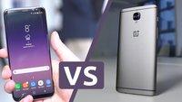 Samsung Galaxy S8 (Plus) vs. OnePlus 3T: Der Flaggschiff-Killer gegen die neuen Flaggschiffe