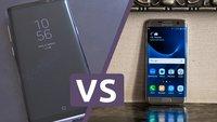 Samsung Galaxy S8 Plus vs. Galaxy S7 edge: Oberklasse-Phablets im Vergleich