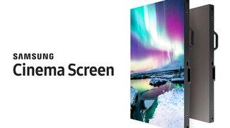 Im Kino wird dich die Sonne blenden: Samsung HDR Cinema Screen vorgestellt