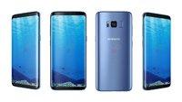 Samsung Galaxy S8 (Plus): Blaue Version, neues Schutzprogramm und Gesten für den Fingerabdruckscanner