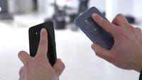Samsung Galaxy S8: Hinweis zur Reinigung der Kamera, weil der Fingerabdruckscanner falsch positioniert ist