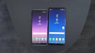 Samsung Galaxy S8 vs. Galaxy S8 Plus im Vergleich: Unterschiede und Gemeinsamkeiten