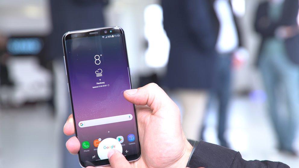So könnte das faltbare Smartphone aussehen — Samsung Galaxy X