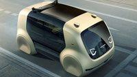 VW Sedric: Volkswagen möchte Taxis durch selbstfahrende Pokémon ersetzen