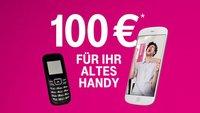 """Telekom """"Alt gegen Neu""""-Aktion: 100 € für altes Smartphone bekommen"""