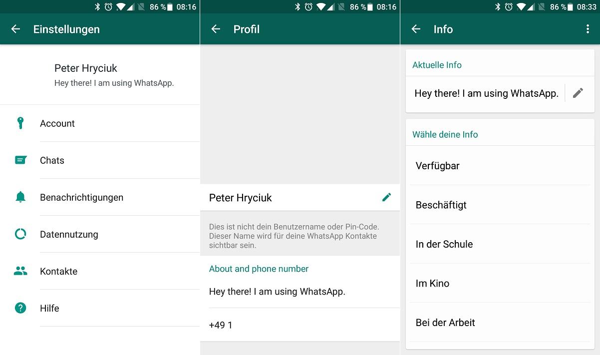 Whatsapp Alter Status Ab Sofort Für Alle Nutzer Als Info