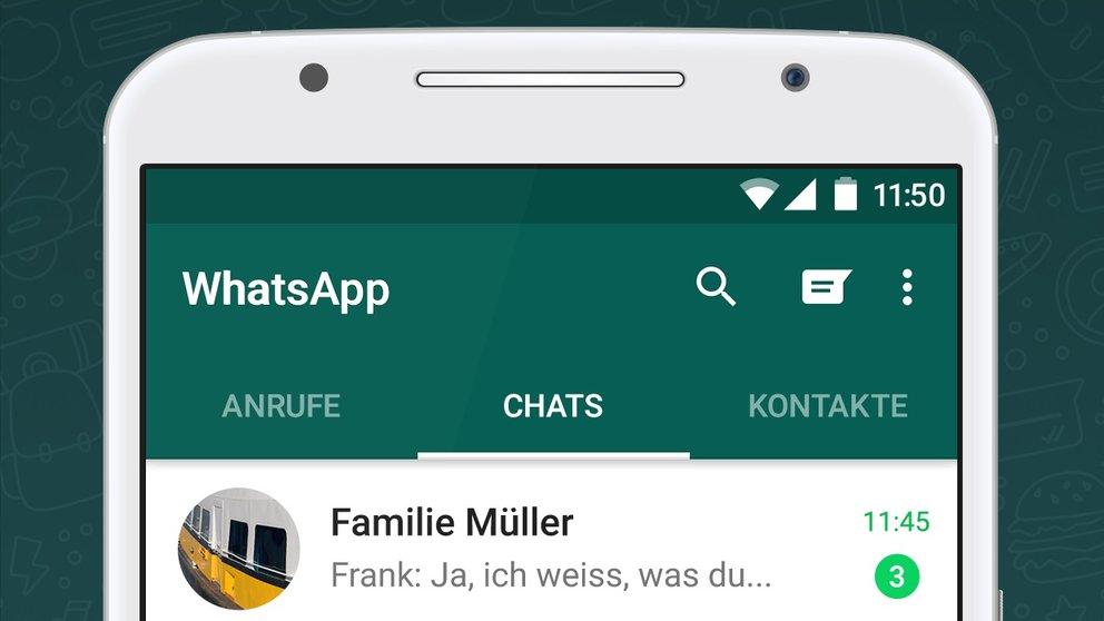 Whatsapp Zurück