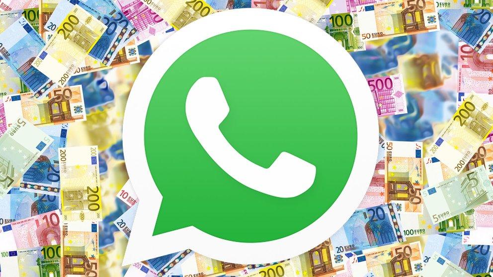 WhatsApp Payments Bezahlfunktion auf Screenshot aufgetaucht