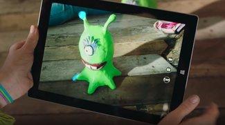 3D-Scanner für mobile Windows-10-Geräte kommt später