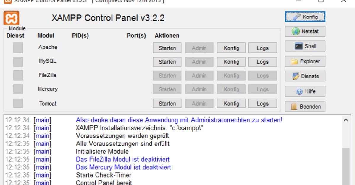 XAMPP Portable Download