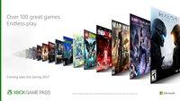 Xbox: Neuer Gamepass gewährt Zugriff auf Spielekatalog