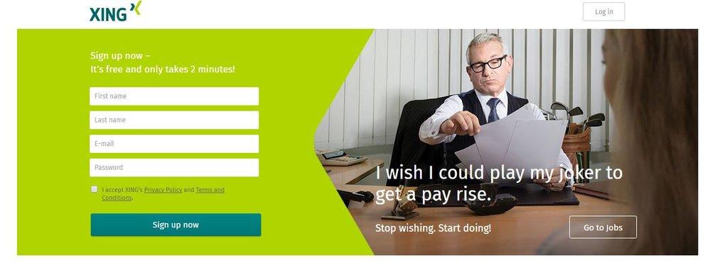 Xing Login Kostenlos Anmelden Und Einloggen Für Jobs Und Lebenslauf