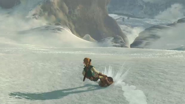 Zelda - Breath of the Wild: So cool ist Link als Skater