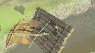 Zelda - Breath of the Wild: Dieser Spieler bringt sein Floß zum Fliegen