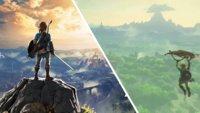 Zelda – Breath of the Wild: Spieler gleitet über 25 Minuten in der Luft