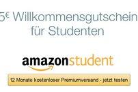 15 € Amazon-Gutschein für Studenten