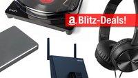 Blitzangebote: Plattenspieler, Acer-Notebook mit SSD, Festplatten u.v.m. heute günstiger