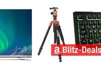 Blitzangebote:<b> Touchscreen für Raspberry Pi, 4K-Fernseher, Gaming-Tastatur u.v.m. heute günstiger</b></b>